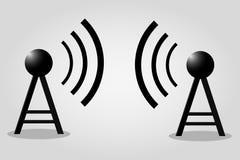 Κεραία ραδιοφωνικής αναμετάδοσης Στοκ εικόνα με δικαίωμα ελεύθερης χρήσης