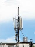 Κεραία τηλεπικοινωνιών Στοκ εικόνες με δικαίωμα ελεύθερης χρήσης