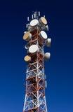 Κεραία τηλεπικοινωνιών στοκ φωτογραφία με δικαίωμα ελεύθερης χρήσης