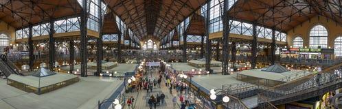 Κεραία του εσωτερικού της κεντρικής αίθουσας Βουδαπέστη Ουγγαρία αγοράς στοκ εικόνα με δικαίωμα ελεύθερης χρήσης