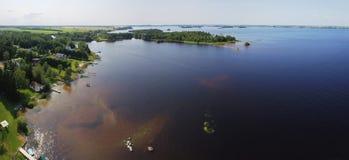 Κεραία του lakeshore στοκ φωτογραφία με δικαίωμα ελεύθερης χρήσης