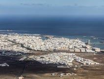 Κεραία Arrecife Στοκ φωτογραφία με δικαίωμα ελεύθερης χρήσης