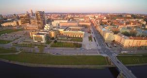 Κεραία Vilnius απόθεμα βίντεο