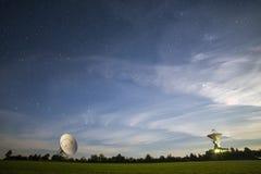 Κεραίες παρατηρητήριων Στοκ εικόνα με δικαίωμα ελεύθερης χρήσης