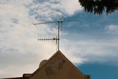 Κεραίες TV Στοκ φωτογραφία με δικαίωμα ελεύθερης χρήσης