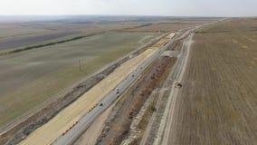 ΚΕΡΑΙΑ: Κατασκευή των νέων δρόμων στην επαρχία φιλμ μικρού μήκους