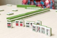 Κεραμίδια για το παιχνίδι mahjong Στοκ εικόνες με δικαίωμα ελεύθερης χρήσης