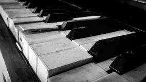 Κεραμίδια πιάνων στοκ φωτογραφίες με δικαίωμα ελεύθερης χρήσης