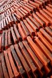 κεραμίδια στεγών προτύπων Στοκ φωτογραφία με δικαίωμα ελεύθερης χρήσης