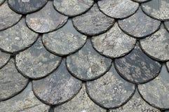 κεραμίδια υλικού κατασκευής σκεπής στεγών Στοκ Φωτογραφία