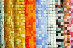 κεραμίδια χρώματος στοκ φωτογραφία