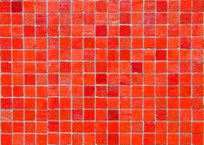 κεραμίδι κόκκινων τετραγώ Στοκ φωτογραφία με δικαίωμα ελεύθερης χρήσης