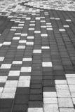 κεραμίδι plaza bw Στοκ Εικόνες