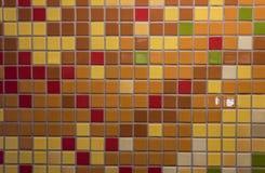 Κεραμίδια με τα χρώματα πτώσης στοκ φωτογραφία με δικαίωμα ελεύθερης χρήσης