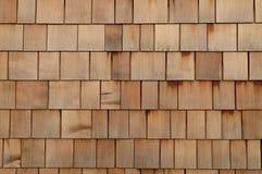 κεραμίδια ξύλινα Στοκ Εικόνα