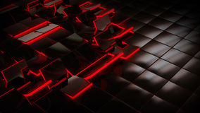 Κεραμίδια πατωμάτων SciFi Στοκ εικόνα με δικαίωμα ελεύθερης χρήσης