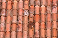 Κεραμίδια στεγών ενός ιταλικού σπιτιού στη Μπολόνια Στοκ εικόνες με δικαίωμα ελεύθερης χρήσης