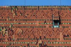 Κεραμίδια στεγών του υψηλού Castle Malbork Στοκ Εικόνες