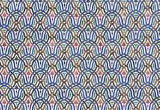 Κεραμίδια Zellige από το Μαρόκο Στοκ Εικόνες