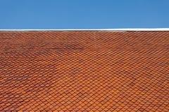 Κεραμίδι υλικού κατασκευής σκεπής Στοκ φωτογραφία με δικαίωμα ελεύθερης χρήσης