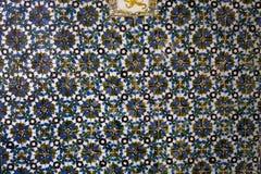Κεραμικά azulejos Plaza de Espana, Σεβίλη, Ανδαλουσία, Ισπανία Στοκ Εικόνα