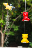 Κεραμικά mobiles για τον κήπο Στοκ Εικόνες