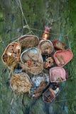 Κεραμική δασική ακόμα ζωή Στοκ εικόνες με δικαίωμα ελεύθερης χρήσης