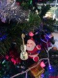 Κεραμική διακόσμηση στοιχείων και χριστουγεννιάτικων δέντρων Στοκ φωτογραφία με δικαίωμα ελεύθερης χρήσης