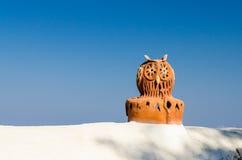 Κεραμική κουκουβάγια θορίου Στοκ Φωτογραφίες