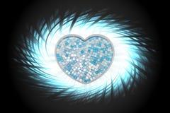 Κεραμική μορφή καρδιών Στοκ εικόνα με δικαίωμα ελεύθερης χρήσης