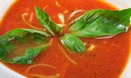 κεραμική ντομάτα σούπας κύ&p Στοκ εικόνες με δικαίωμα ελεύθερης χρήσης