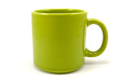κεραμική πράσινη φλυτζάνα &tau Στοκ Φωτογραφίες