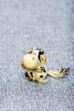 Κεραμική τενεκεδένια αγελάδα Στοκ φωτογραφίες με δικαίωμα ελεύθερης χρήσης