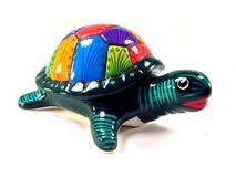 κεραμική χελώνα Στοκ φωτογραφίες με δικαίωμα ελεύθερης χρήσης