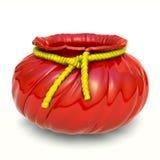 κεραμικός κόκκινος κίτρι& Στοκ Εικόνα