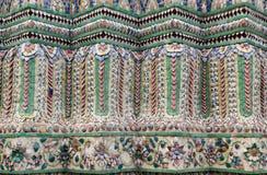 Κεραμικός τοίχος διακοσμήσεων στοκ φωτογραφία με δικαίωμα ελεύθερης χρήσης
