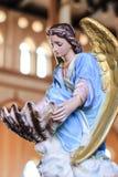 Κεραμικό άγαλμα στην εκκλησία Χριστού Στοκ Εικόνες