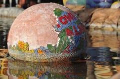 κεραμικό κεραμίδι σφαιρών  Στοκ εικόνα με δικαίωμα ελεύθερης χρήσης