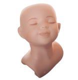 κεραμικό κεφάλι κουκλών Στοκ εικόνα με δικαίωμα ελεύθερης χρήσης