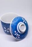 κεραμικό τσάι φλυτζανιών Στοκ φωτογραφία με δικαίωμα ελεύθερης χρήσης