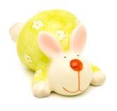 Κεραμικό bunny Πάσχας κουνελιών (λαγοί) Στοκ φωτογραφία με δικαίωμα ελεύθερης χρήσης