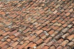 Κεραμωμένη στέγη Στοκ εικόνα με δικαίωμα ελεύθερης χρήσης