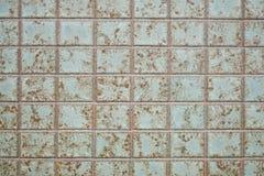 Κεραμωμένο εξωτερικό υπόβαθρο τοίχων στοκ εικόνες με δικαίωμα ελεύθερης χρήσης