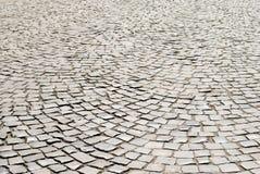 Κεραμωμένο υπόβαθρο πεζοδρομίων Επίστρωση κύκλων Στοκ φωτογραφία με δικαίωμα ελεύθερης χρήσης