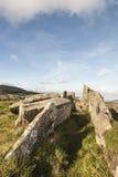 Κερασφόρος τάφος στοών σε Arran στη Σκωτία Στοκ Φωτογραφίες