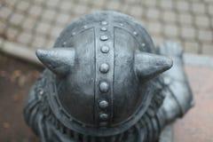 Κερασφόρο κράνος Βίκινγκ Στοκ Φωτογραφία