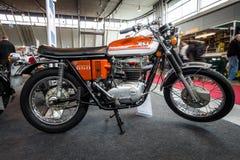 Κεραυνός μοτοσικλετών BSA A65T, 1972 Στοκ Φωτογραφία