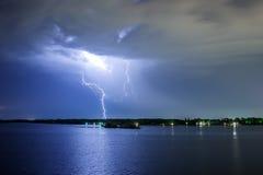 Κεραυνός φωτισμού Στοκ Εικόνες