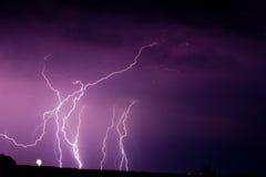 κεραυνός Στοκ φωτογραφία με δικαίωμα ελεύθερης χρήσης