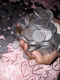 Κερδίστε τα σε απευθείας σύνδεση χρήματα Στοκ εικόνα με δικαίωμα ελεύθερης χρήσης